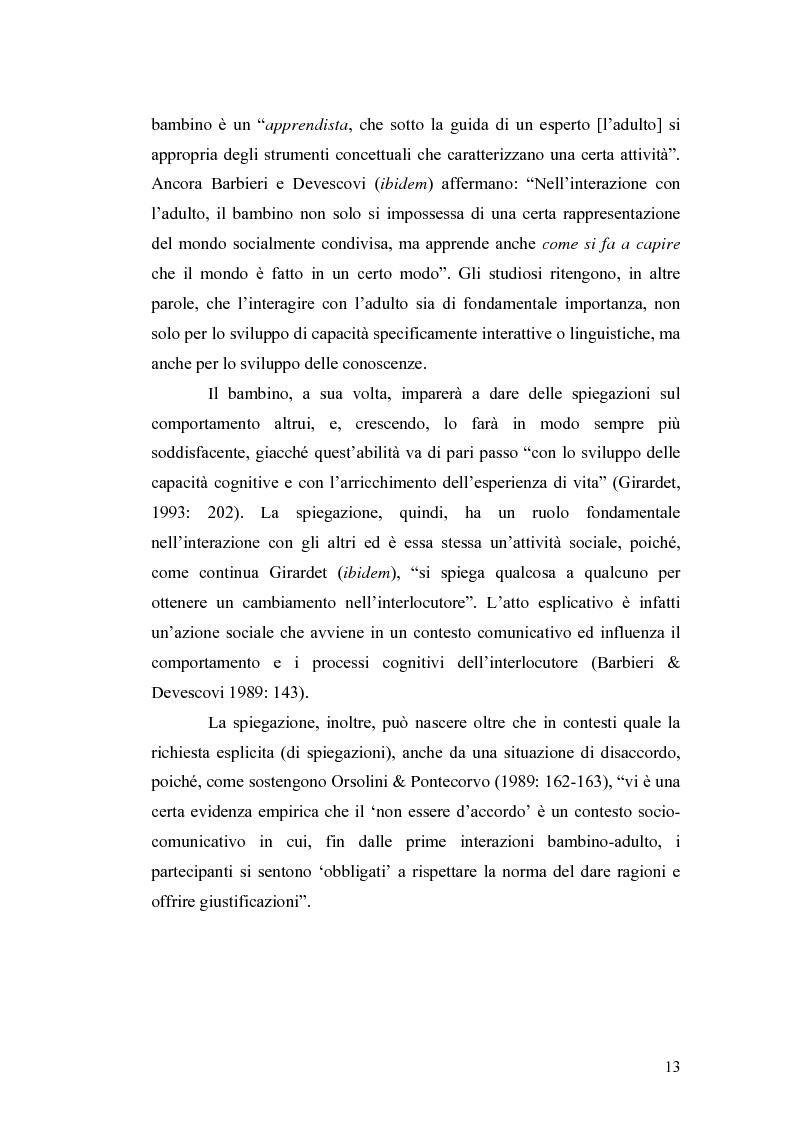 Anteprima della tesi: ''Ma dove stanno i riti, professoressa?''. Interazione ed eventi esplicativi in contesti scolastici., Pagina 13
