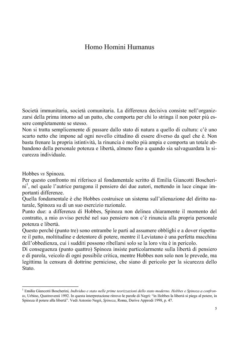 Anteprima della tesi: Umano, solo umano - un confronto Nietzsche Spinoza, Pagina 2