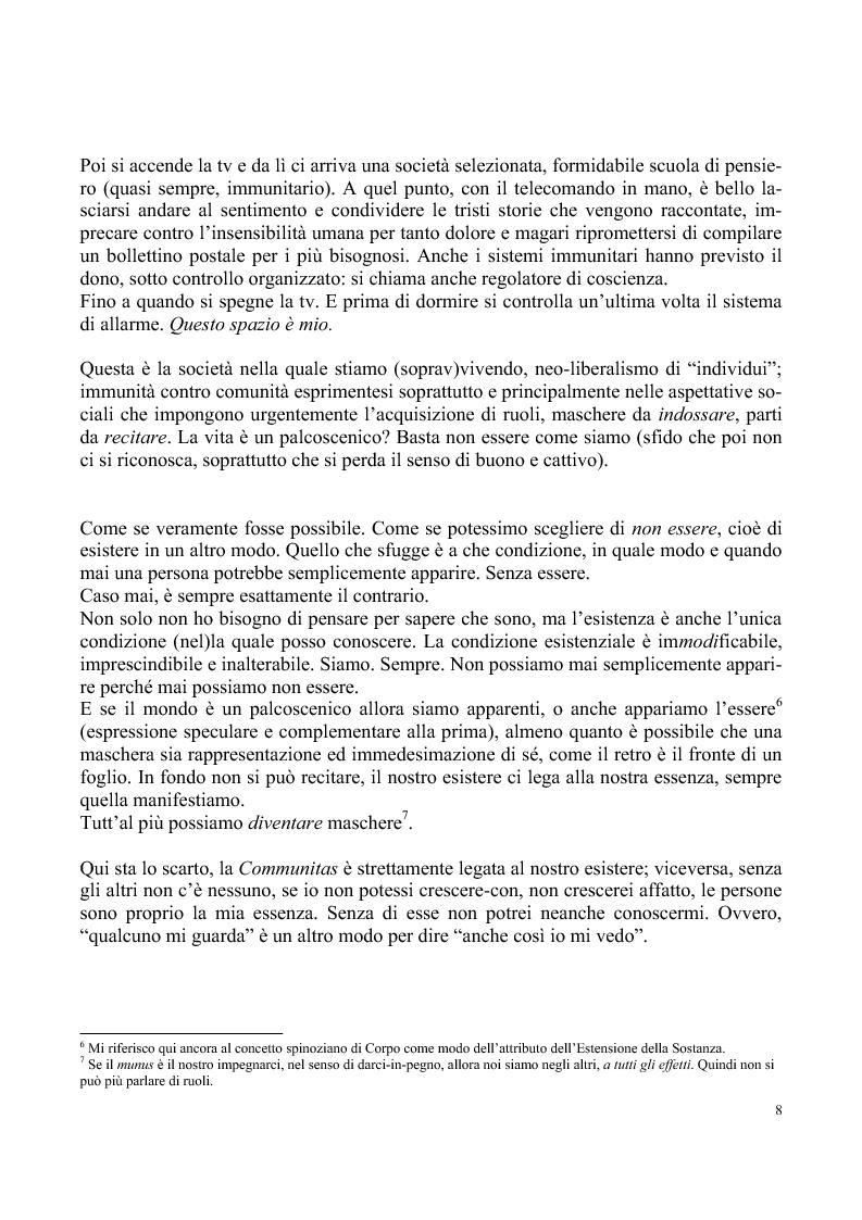 Anteprima della tesi: Umano, solo umano - un confronto Nietzsche Spinoza, Pagina 5