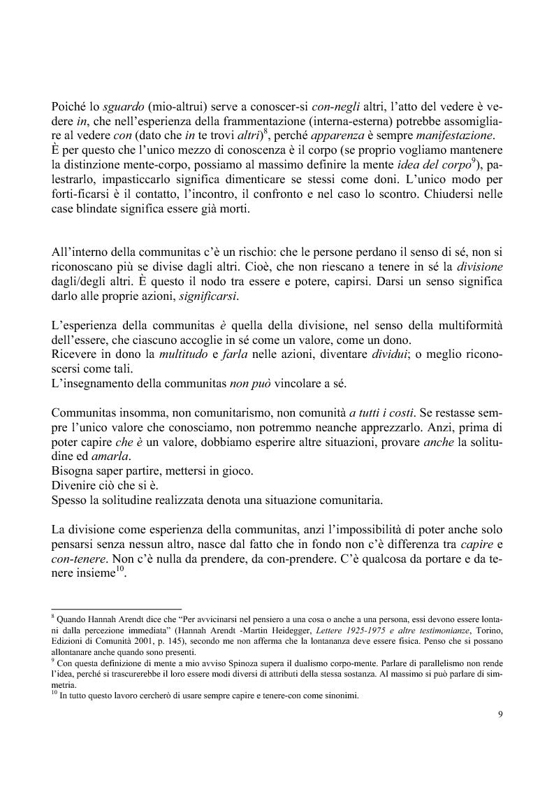 Anteprima della tesi: Umano, solo umano - un confronto Nietzsche Spinoza, Pagina 6