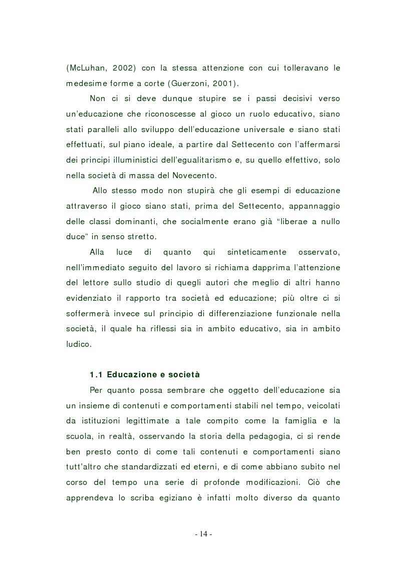 Anteprima della tesi: L'edutainment come fonte di valore per l'impresa e l'individuo., Pagina 13
