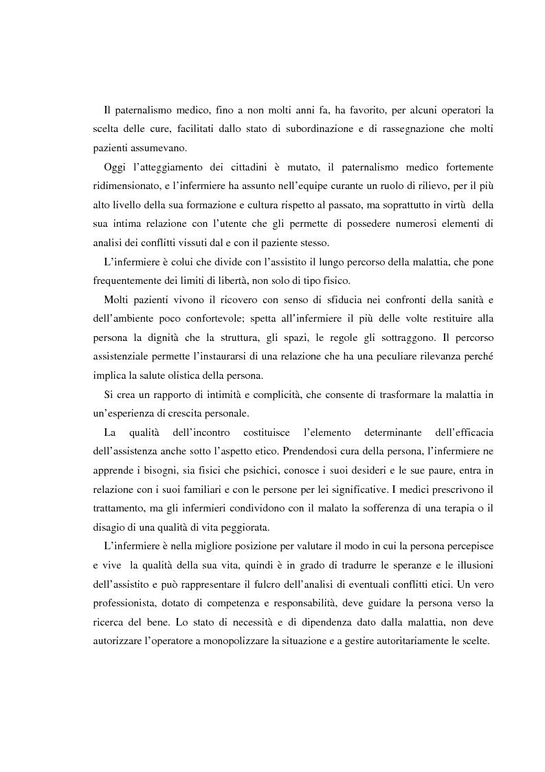 Anteprima della tesi: Dilemmi etici nell'esercizio della professione infermieristica: quali linee guida?, Pagina 5