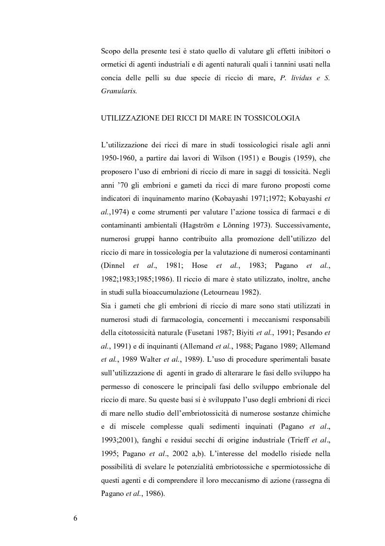 Anteprima della tesi: Ormesi e tossicità da agenti industriali e naturali:uno studio su tannini vegetali, Pagina 1