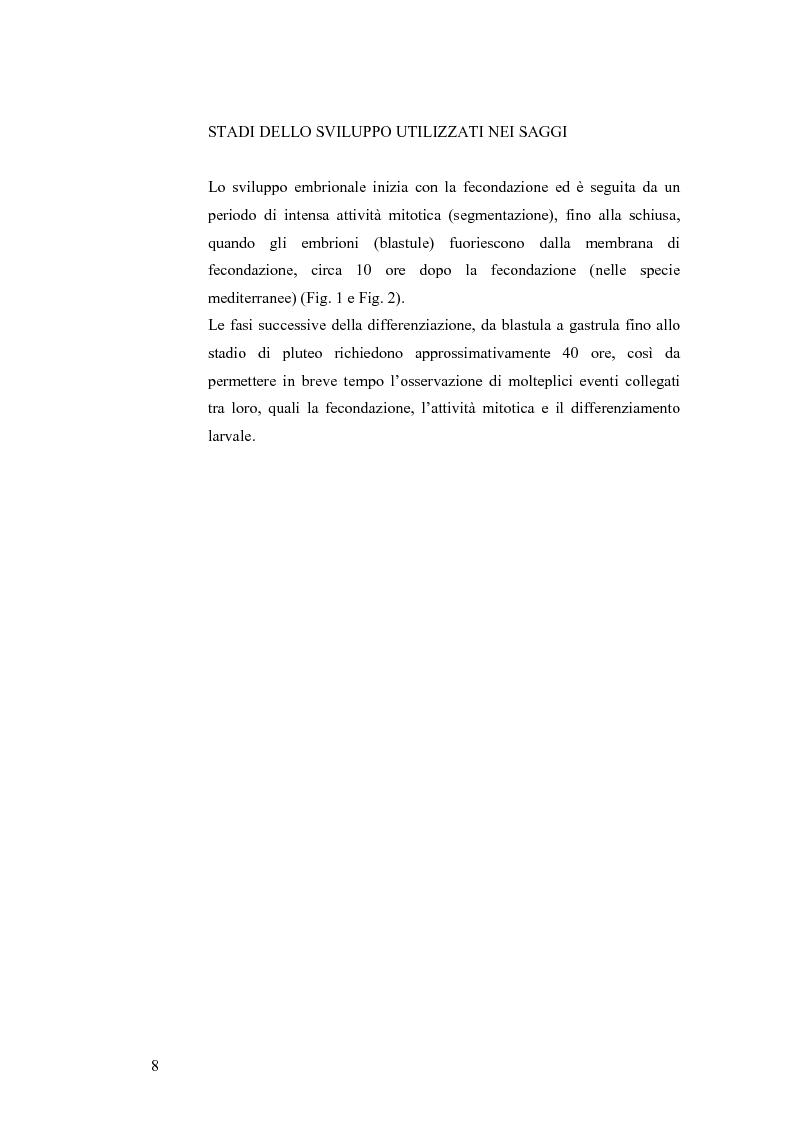 Anteprima della tesi: Ormesi e tossicità da agenti industriali e naturali:uno studio su tannini vegetali, Pagina 3