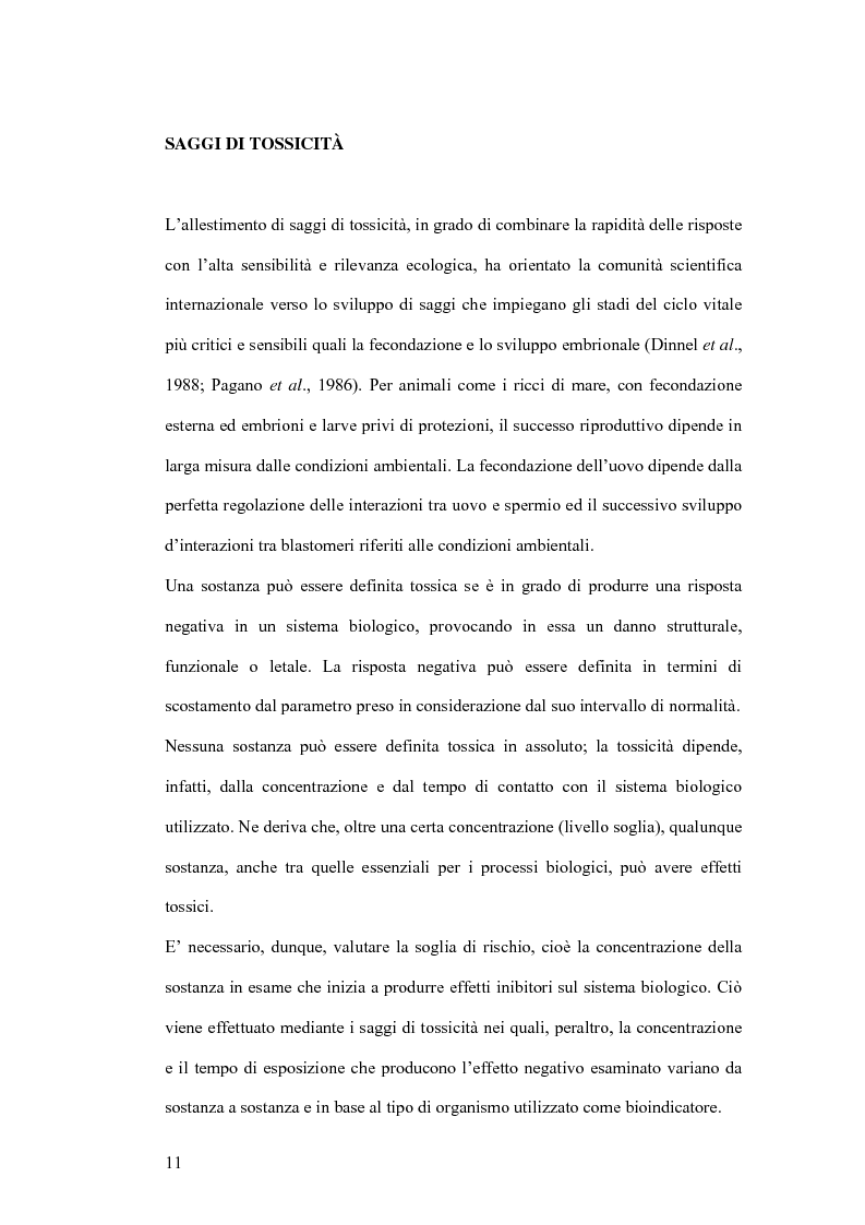 Anteprima della tesi: Ormesi e tossicità da agenti industriali e naturali:uno studio su tannini vegetali, Pagina 6