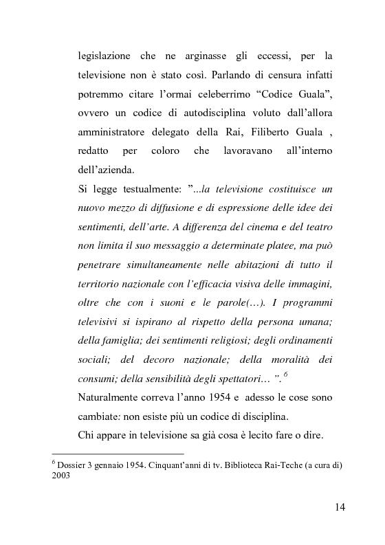 Anteprima della tesi: La censura nel sistema cinematografico e televisivo. Aspetti legislativi, sociali e giuridici., Pagina 10