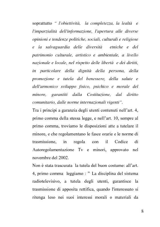 Anteprima della tesi: La censura nel sistema cinematografico e televisivo. Aspetti legislativi, sociali e giuridici., Pagina 4
