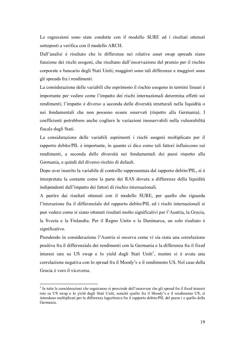 Anteprima della tesi: Event-Study and Econometrics Model of government bonds in European Union., Pagina 7