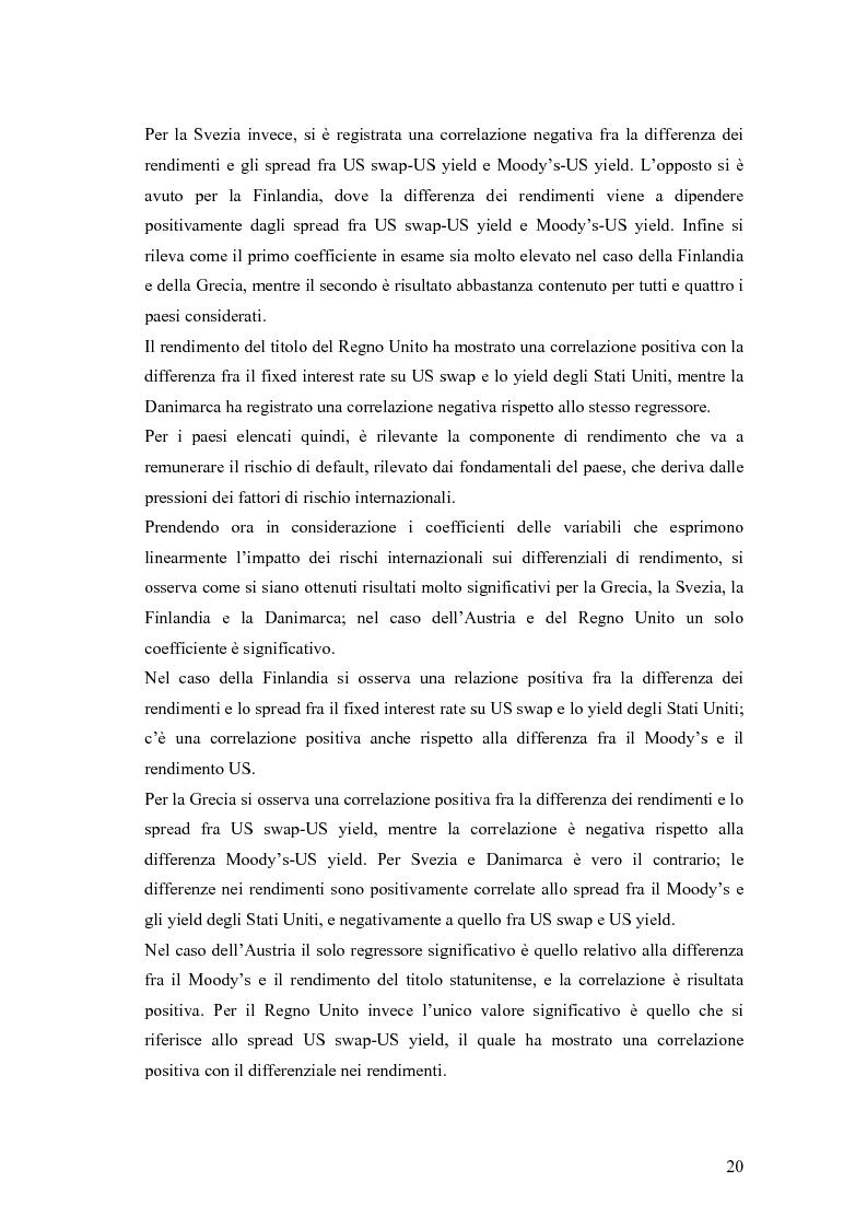 Anteprima della tesi: Event-Study and Econometrics Model of government bonds in European Union., Pagina 8