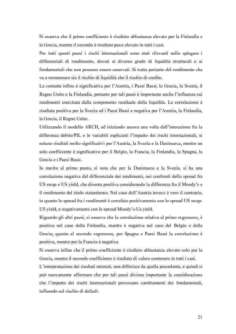 Anteprima della tesi: Event-Study and Econometrics Model of government bonds in European Union., Pagina 9