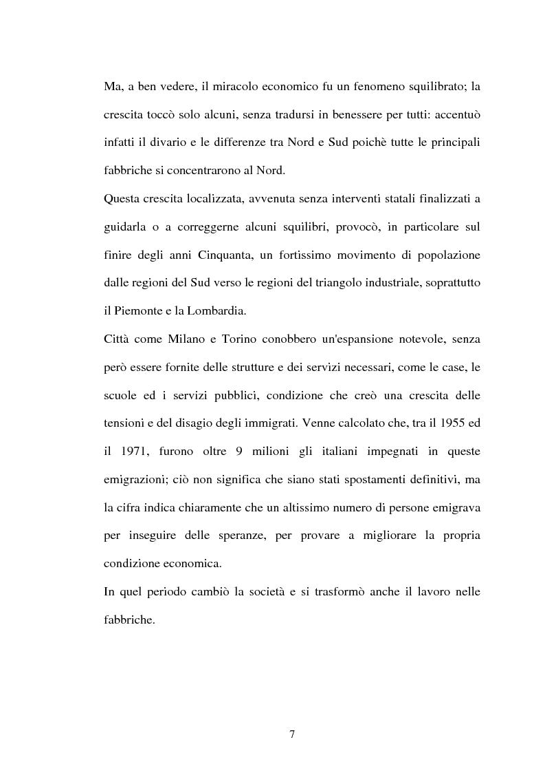Anteprima della tesi: Il lavoro flessibile: progresso o recessione? Ricerca empirica nel territorio comasco., Pagina 7