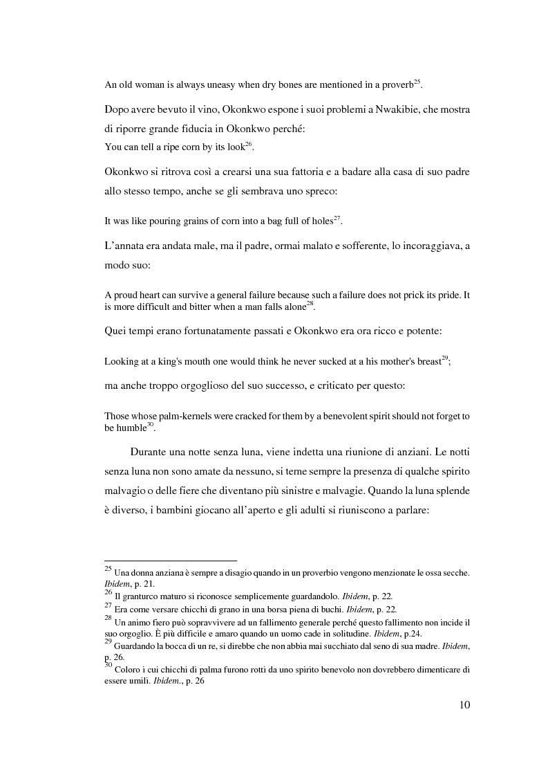 Anteprima della tesi: Tradizione e innovazione nella trilogia di Chinua Achebe, Pagina 10