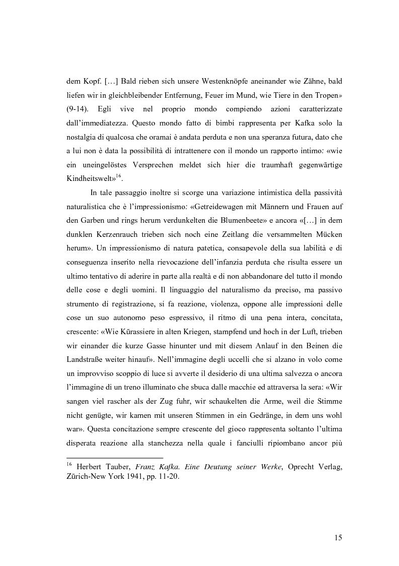 Anteprima della tesi: Betrachtung di Franz Kafka nelle traduzioni italiane, Pagina 11