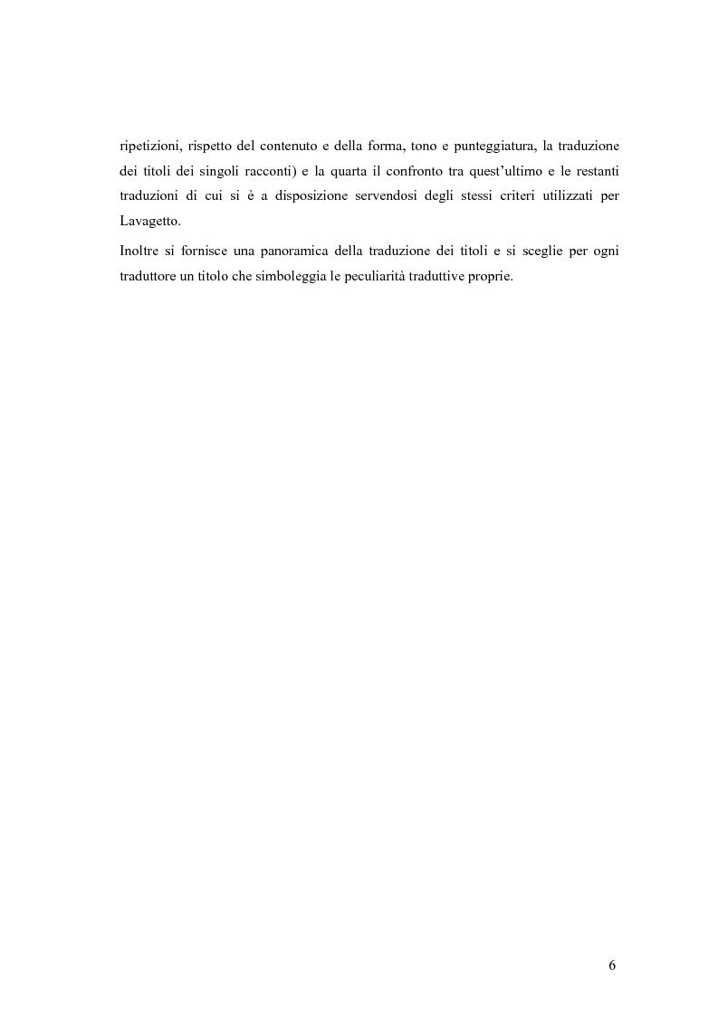 Anteprima della tesi: Betrachtung di Franz Kafka nelle traduzioni italiane, Pagina 2