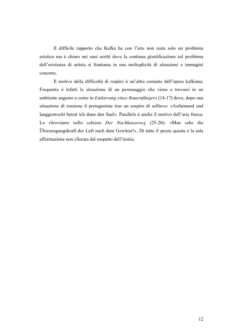 Anteprima della tesi: Betrachtung di Franz Kafka nelle traduzioni italiane, Pagina 8