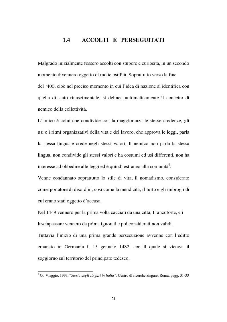 Anteprima della tesi: Le ragazze romni fra il campo e l'istituzione chiusa, Pagina 15
