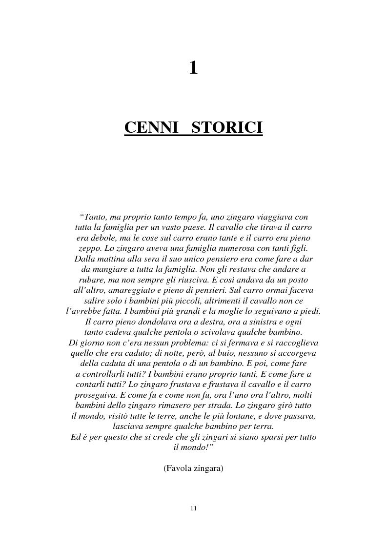 Anteprima della tesi: Le ragazze romni fra il campo e l'istituzione chiusa, Pagina 5