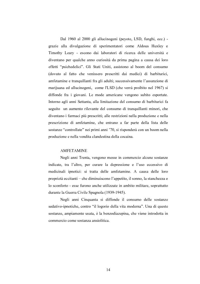 Anteprima della tesi: Gli effetti delle sostanze stupefacenti sui processi cognitivi: l'attuale stato della ricerca, Pagina 10