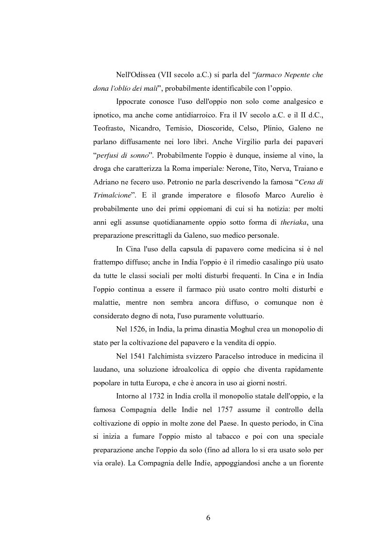 Anteprima della tesi: Gli effetti delle sostanze stupefacenti sui processi cognitivi: l'attuale stato della ricerca, Pagina 2