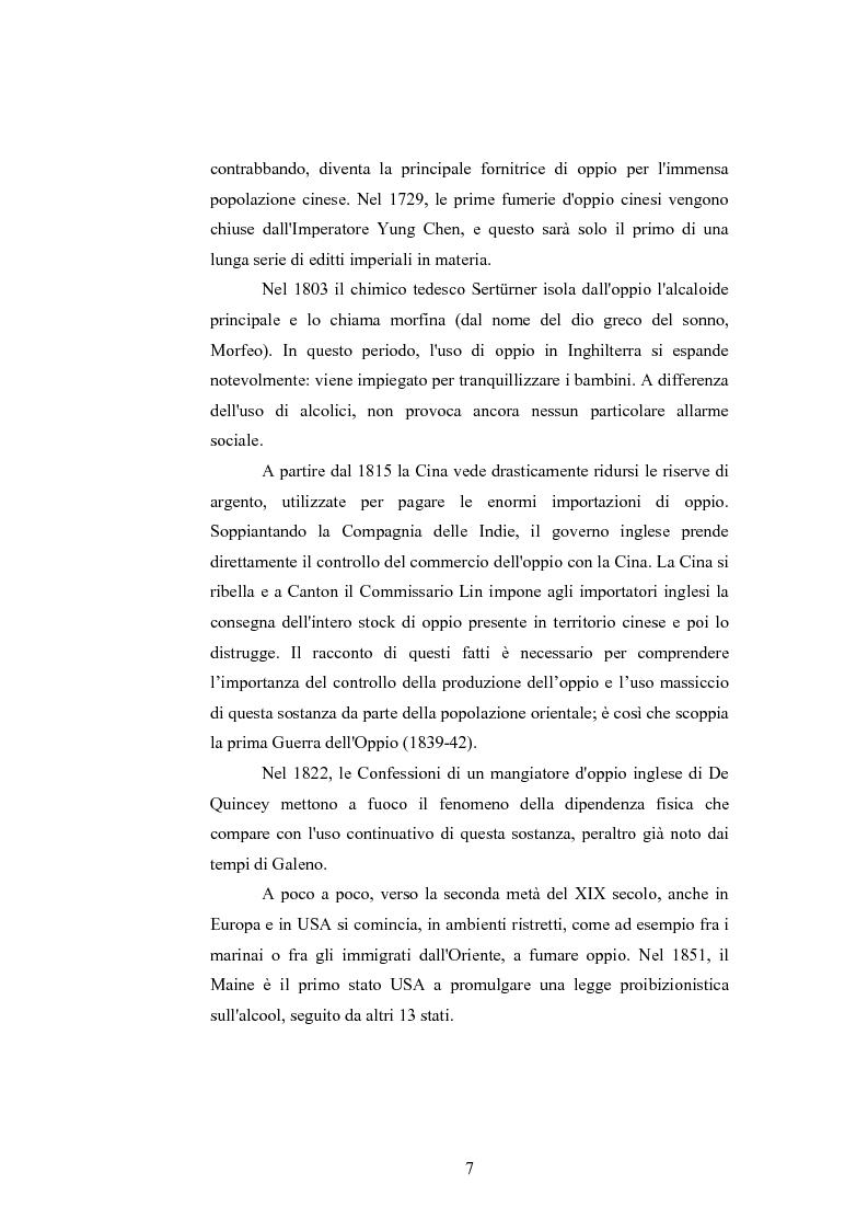 Anteprima della tesi: Gli effetti delle sostanze stupefacenti sui processi cognitivi: l'attuale stato della ricerca, Pagina 3