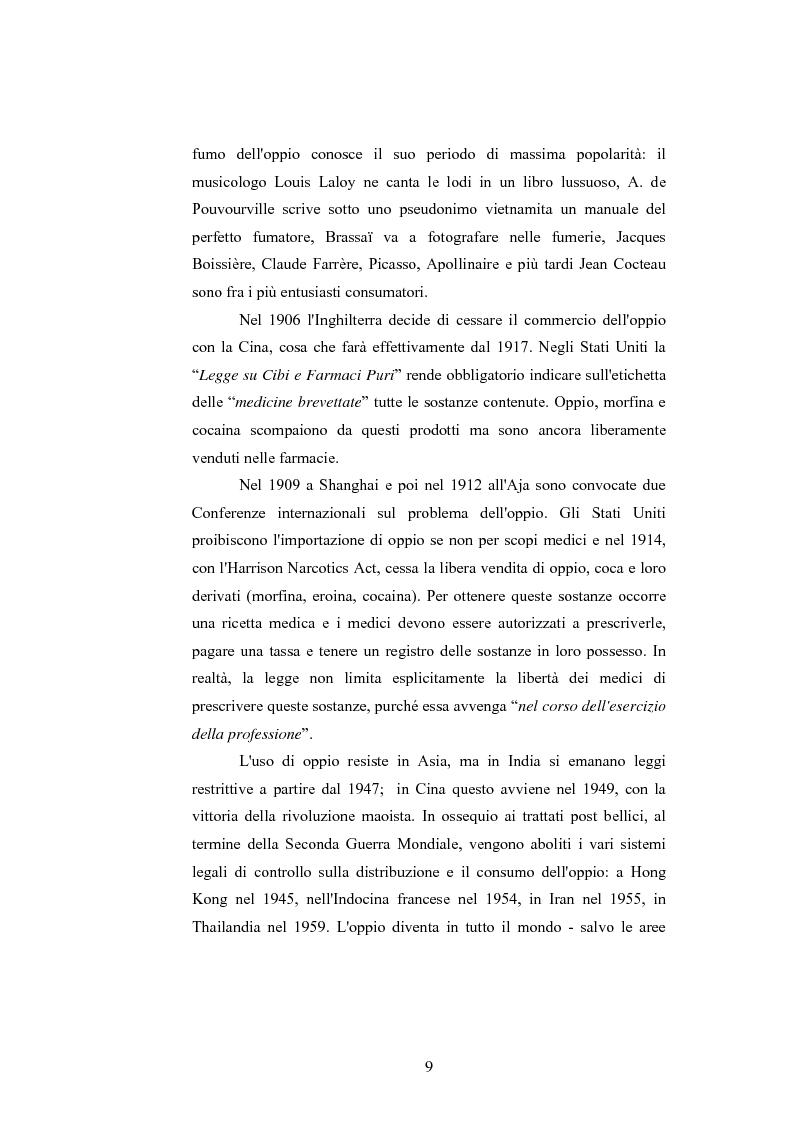 Anteprima della tesi: Gli effetti delle sostanze stupefacenti sui processi cognitivi: l'attuale stato della ricerca, Pagina 5