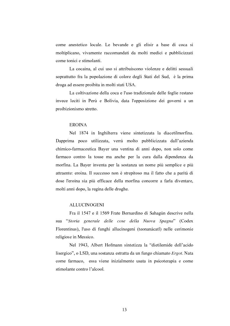 Anteprima della tesi: Gli effetti delle sostanze stupefacenti sui processi cognitivi: l'attuale stato della ricerca, Pagina 9