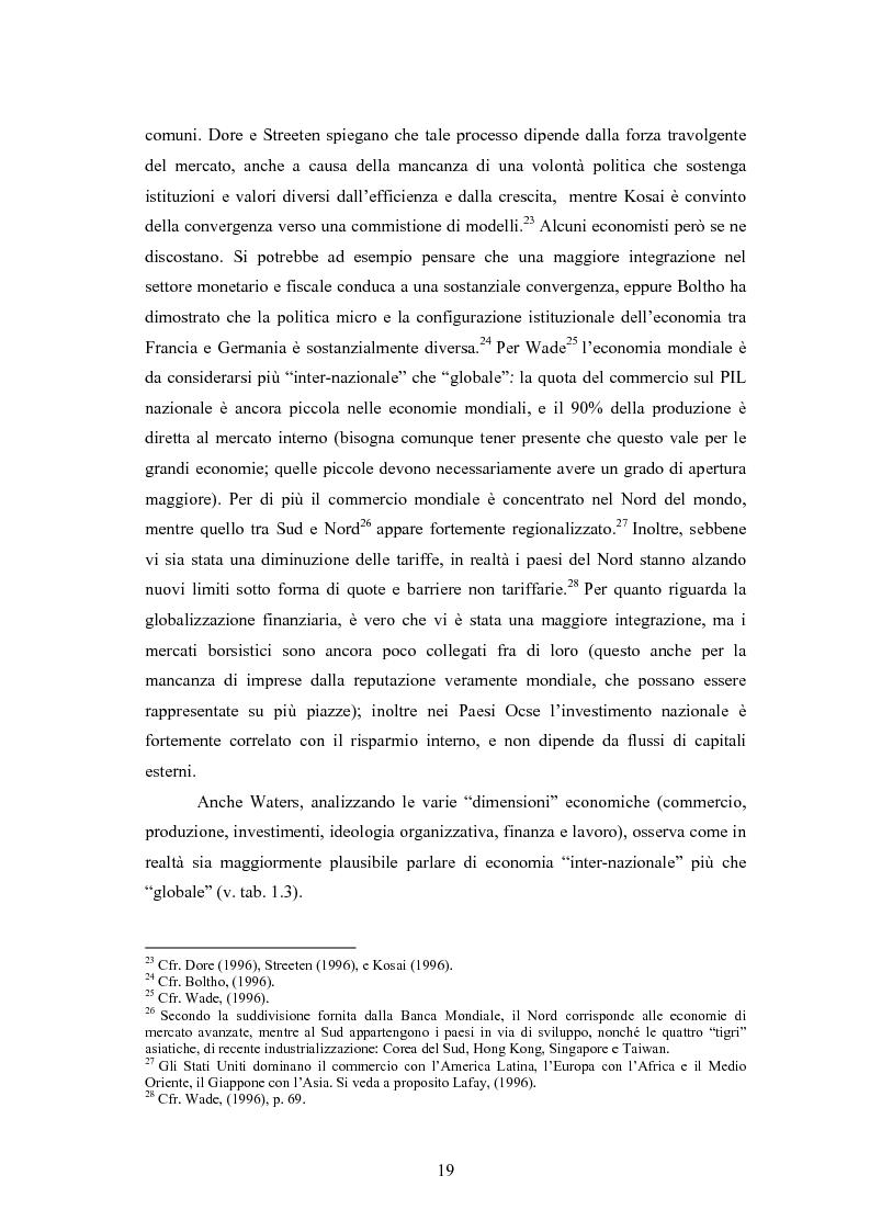Anteprima della tesi: Giappone: crisi strutturale dell'economia e investimenti diretti in Italia e in Europa, Pagina 11