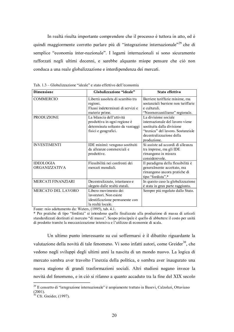 Anteprima della tesi: Giappone: crisi strutturale dell'economia e investimenti diretti in Italia e in Europa, Pagina 12
