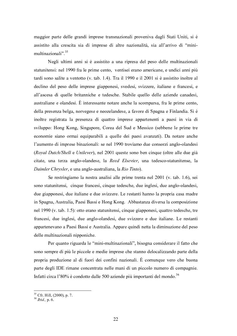 Anteprima della tesi: Giappone: crisi strutturale dell'economia e investimenti diretti in Italia e in Europa, Pagina 14