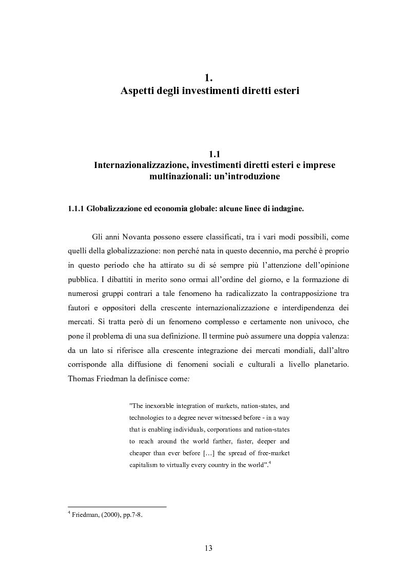 Anteprima della tesi: Giappone: crisi strutturale dell'economia e investimenti diretti in Italia e in Europa, Pagina 5