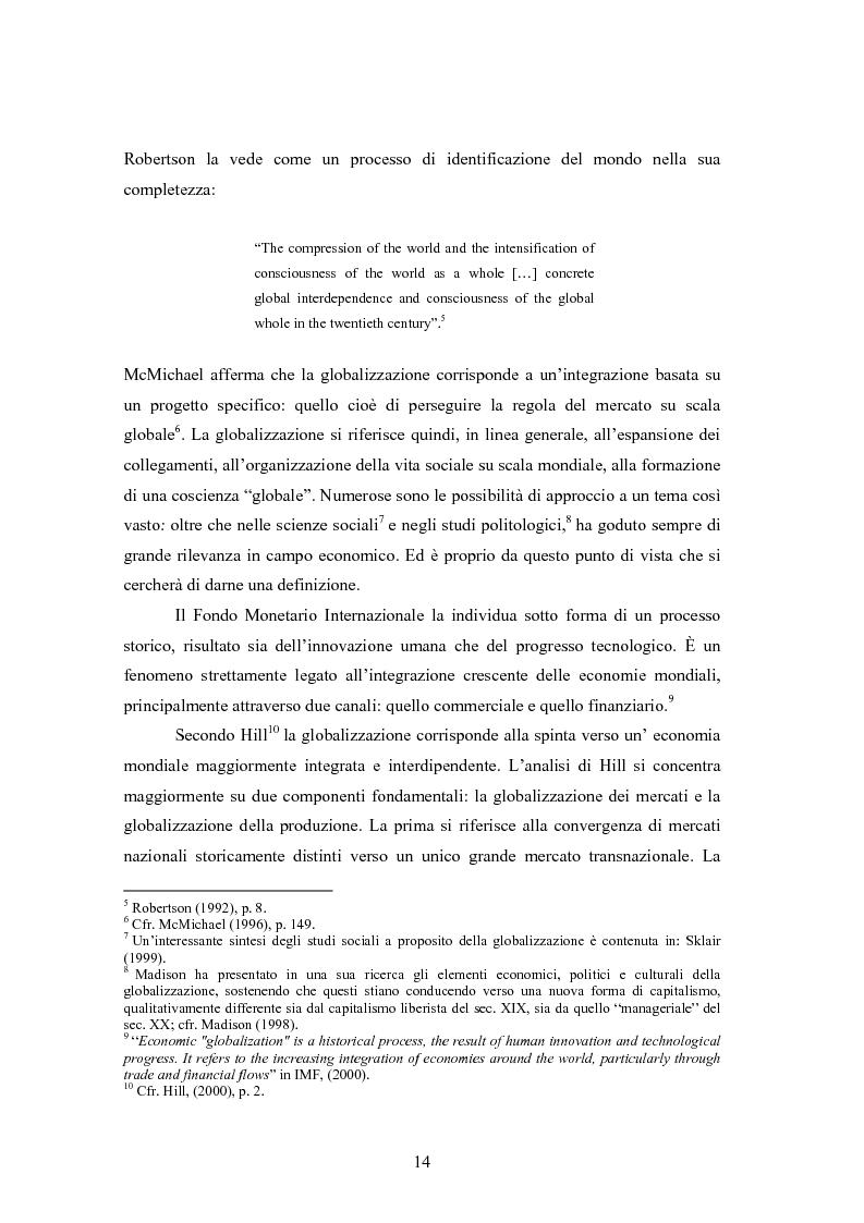Anteprima della tesi: Giappone: crisi strutturale dell'economia e investimenti diretti in Italia e in Europa, Pagina 6