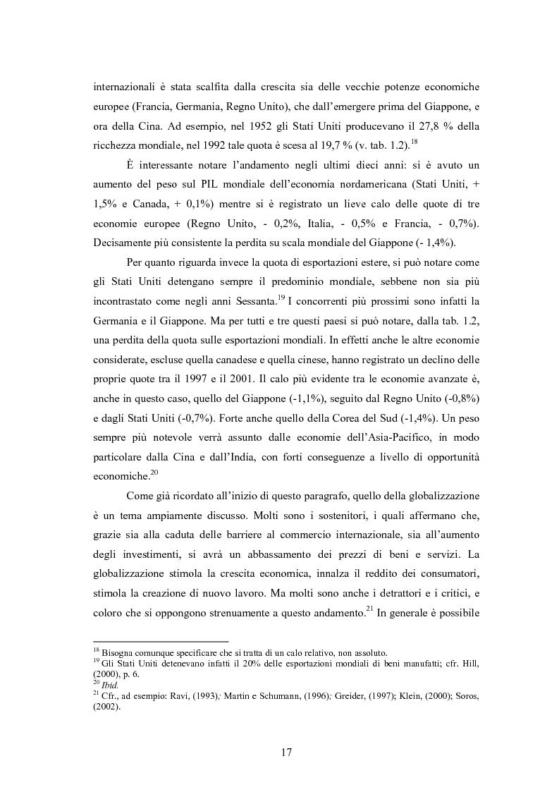 Anteprima della tesi: Giappone: crisi strutturale dell'economia e investimenti diretti in Italia e in Europa, Pagina 9