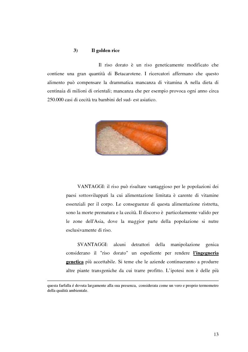 Anteprima della tesi: La comunicazione pubblicitaria nelle biotecnologie, Pagina 11