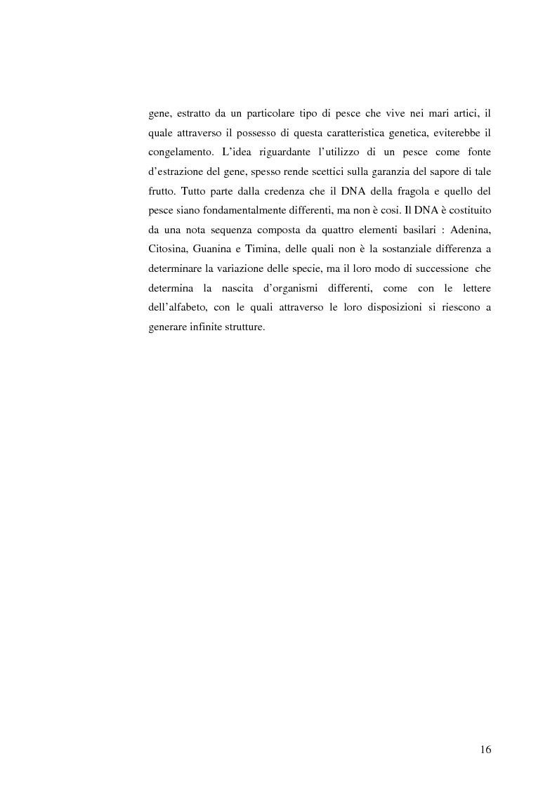 Anteprima della tesi: La comunicazione pubblicitaria nelle biotecnologie, Pagina 14