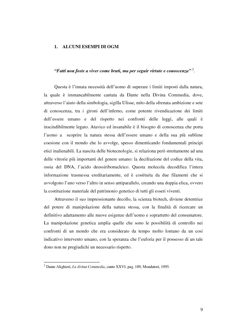 Anteprima della tesi: La comunicazione pubblicitaria nelle biotecnologie, Pagina 7