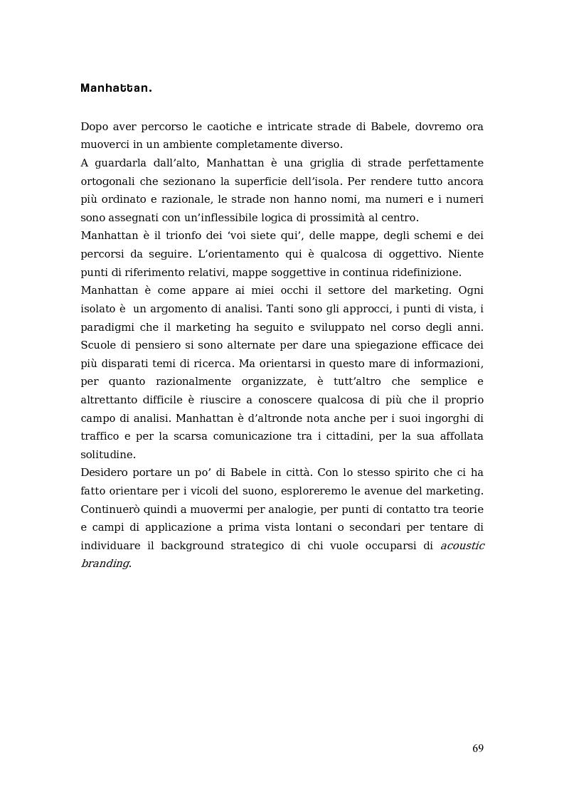 Anteprima della tesi: Sono come suono. Progettare l'acoustic branding in Italia., Pagina 12