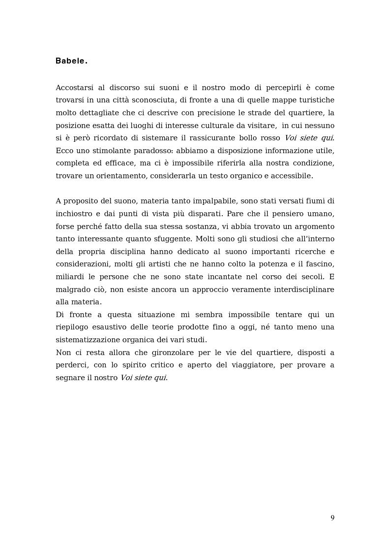 Anteprima della tesi: Sono come suono. Progettare l'acoustic branding in Italia., Pagina 5