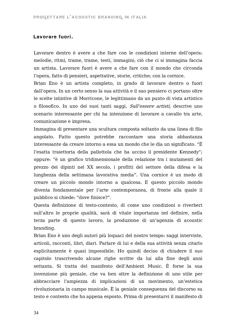 Anteprima della tesi: Sono come suono. Progettare l'acoustic branding in Italia., Pagina 7
