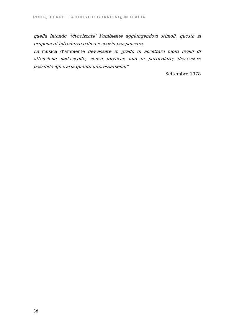 Anteprima della tesi: Sono come suono. Progettare l'acoustic branding in Italia., Pagina 9