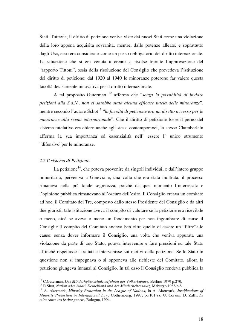 Anteprima della tesi: La tutela delle minoranze nazionali in Europa, Pagina 14