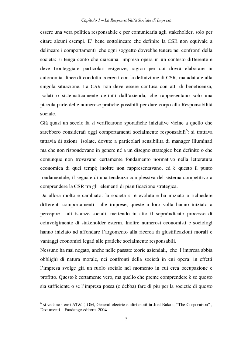 Anteprima della tesi: Responsabilità sociale di impresa e Workplace, Pagina 10