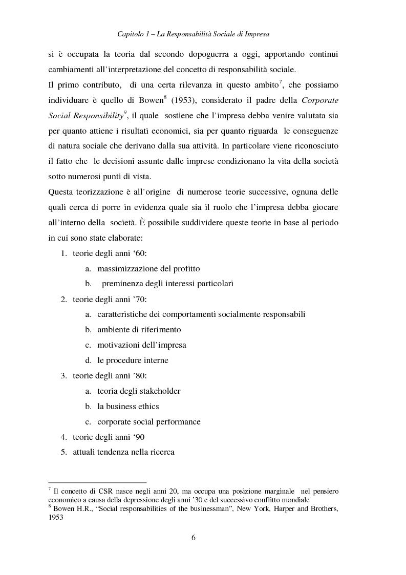 Anteprima della tesi: Responsabilità sociale di impresa e Workplace, Pagina 11