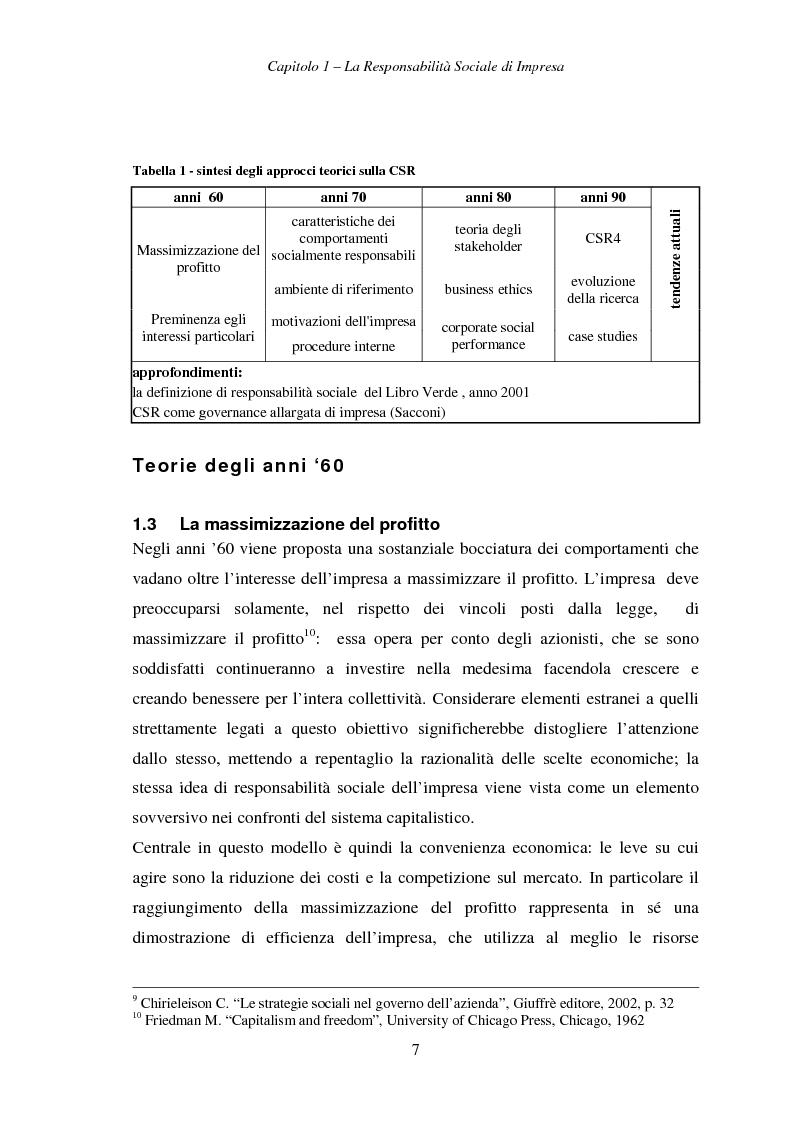 Anteprima della tesi: Responsabilità sociale di impresa e Workplace, Pagina 12