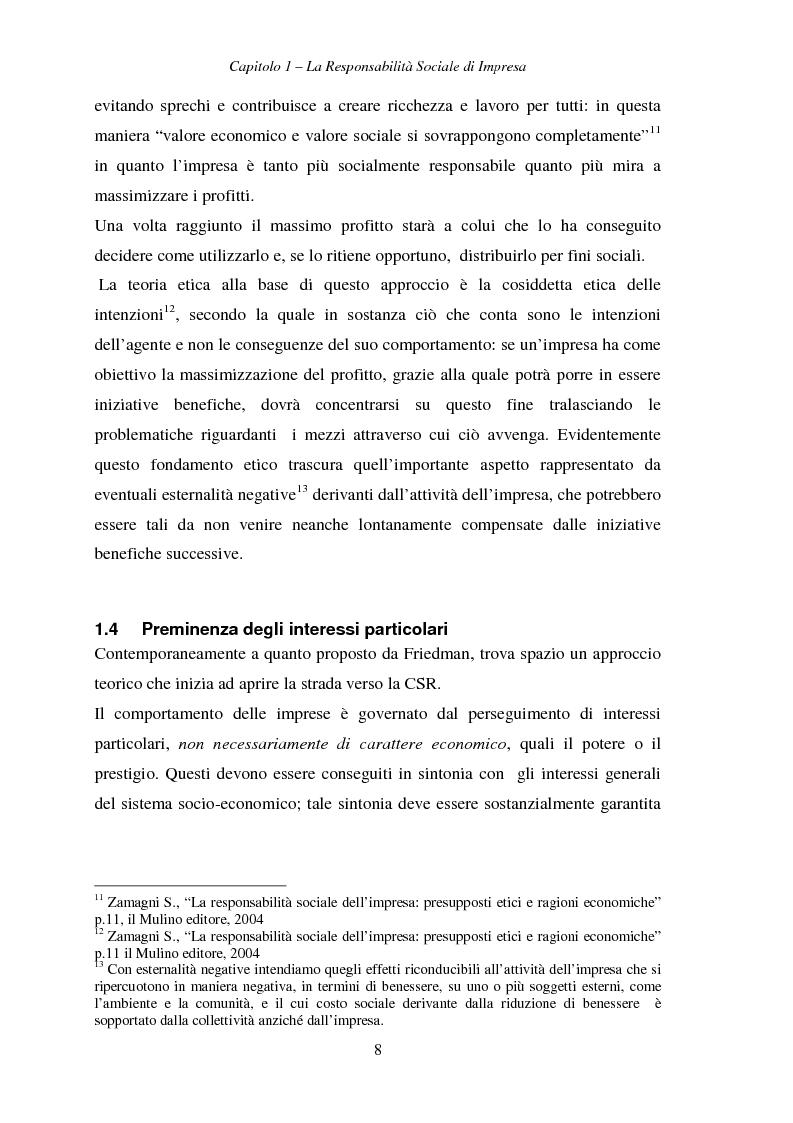 Anteprima della tesi: Responsabilità sociale di impresa e Workplace, Pagina 13