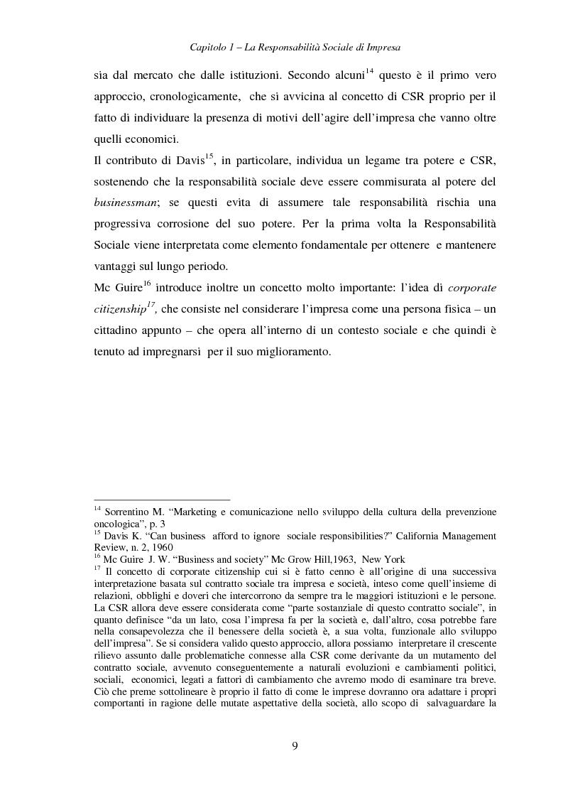 Anteprima della tesi: Responsabilità sociale di impresa e Workplace, Pagina 14