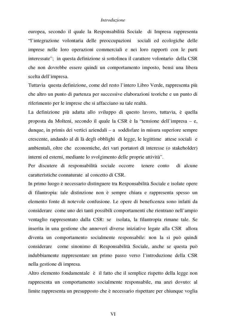 Anteprima della tesi: Responsabilità sociale di impresa e Workplace, Pagina 2
