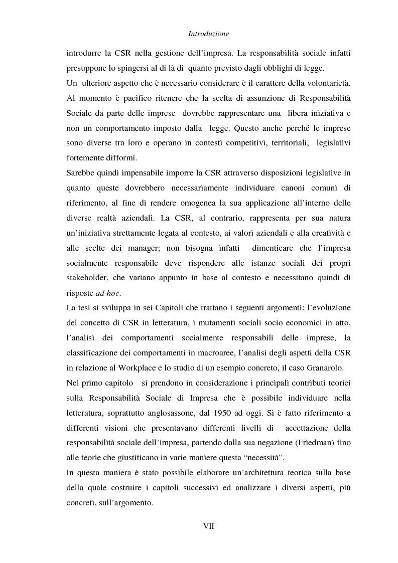Anteprima della tesi: Responsabilità sociale di impresa e Workplace, Pagina 3