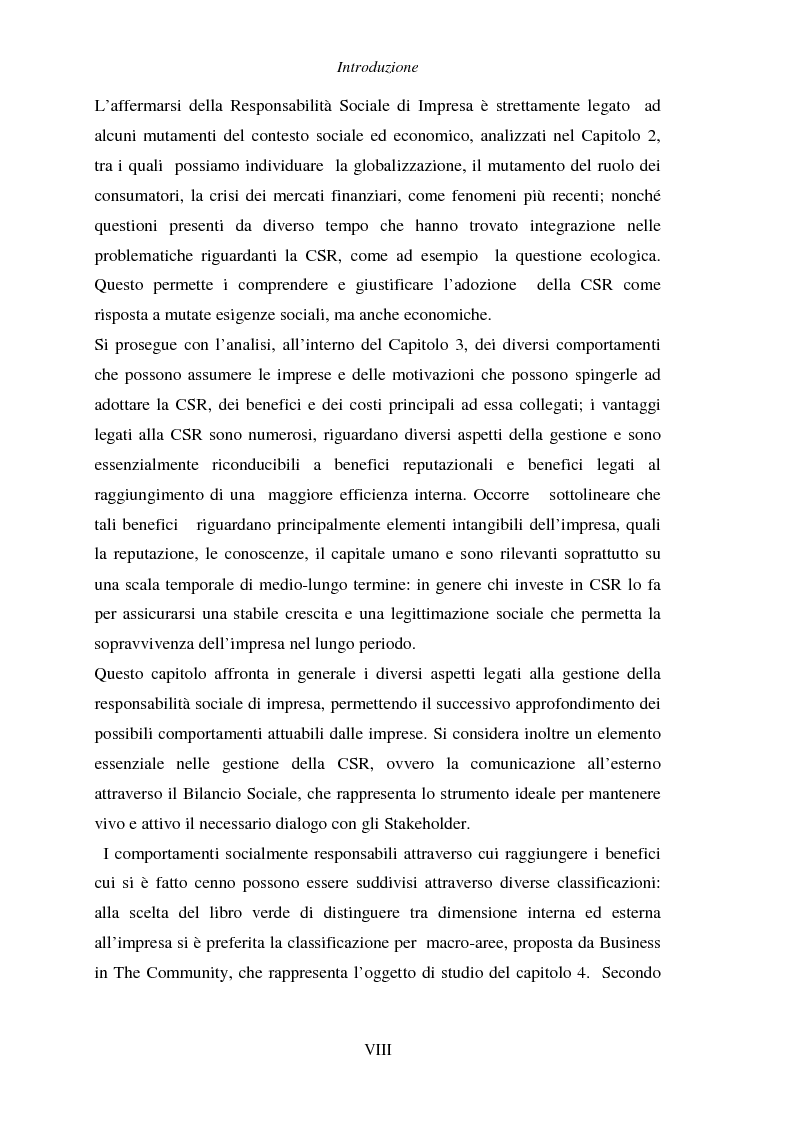 Anteprima della tesi: Responsabilità sociale di impresa e Workplace, Pagina 4