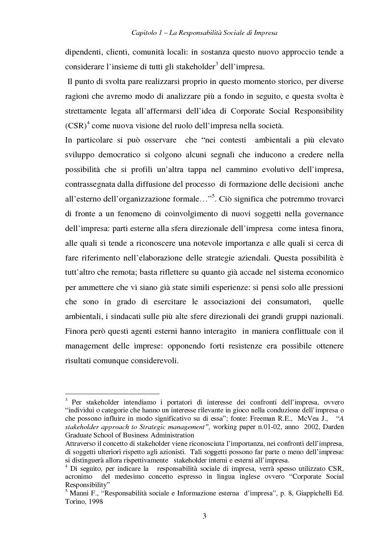 Anteprima della tesi: Responsabilità sociale di impresa e Workplace, Pagina 8