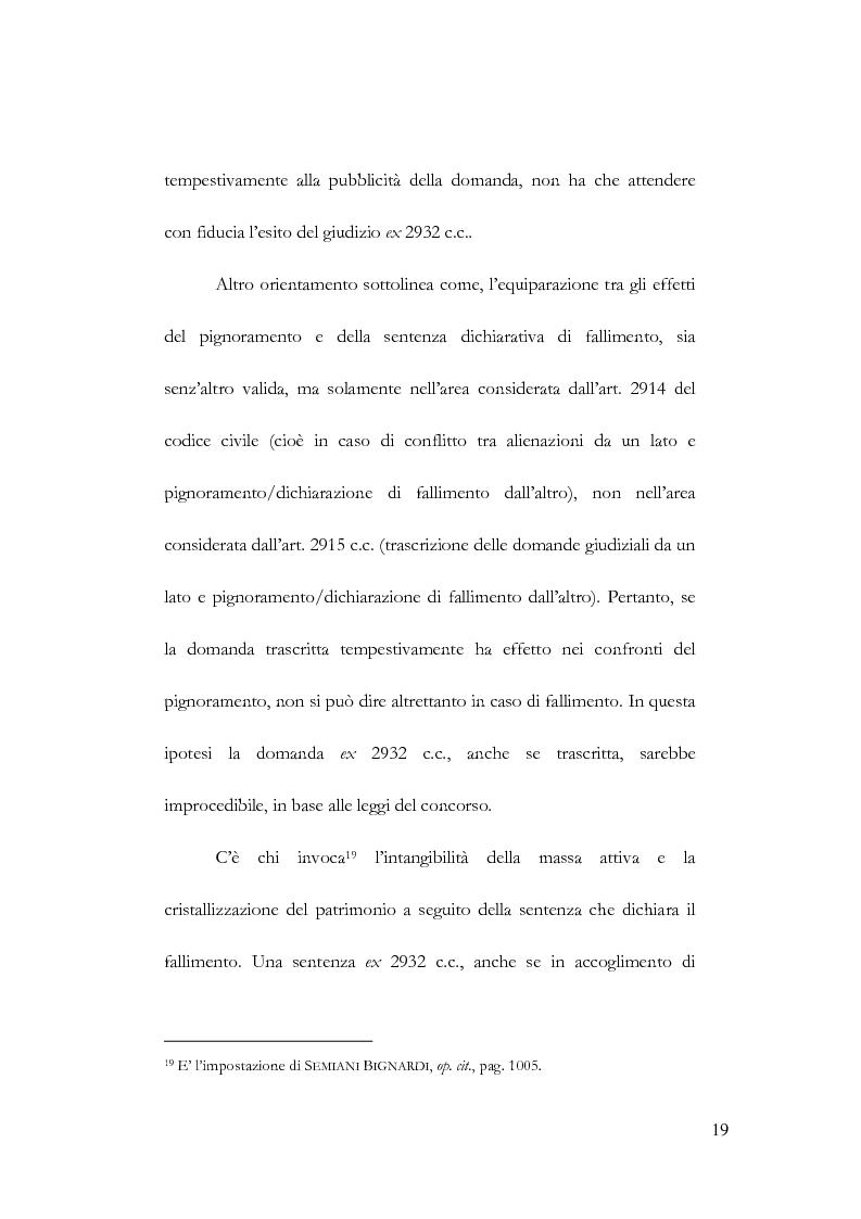 Anteprima della tesi: Fallimento e contratto preliminare, Pagina 15